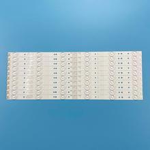 New Kit 10pcs 6LED 480mm LED backlight strip for LC490DUJ SHA2 5800 W49001 1P00 5800 W49001 2P00 0P00 DP00 5850 W50007 1P00