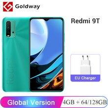 Глобальная версия Xiaomi Redmi 9T 4 Гб 64 Гб 128 Гб мобильный телефон Snapdragon 662 Octa Core 48MP Quad Camera 6,53