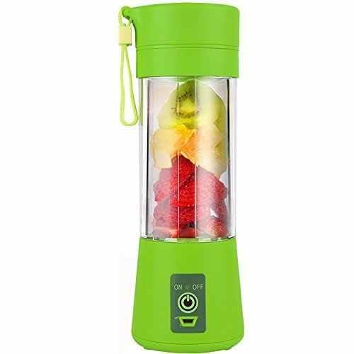400 ML Portátil USB Elétrica Juicer Blender Juicer 6 Lâminas em 3D Portátil com USB Exigível Household Juicer Shake de Frutas mix