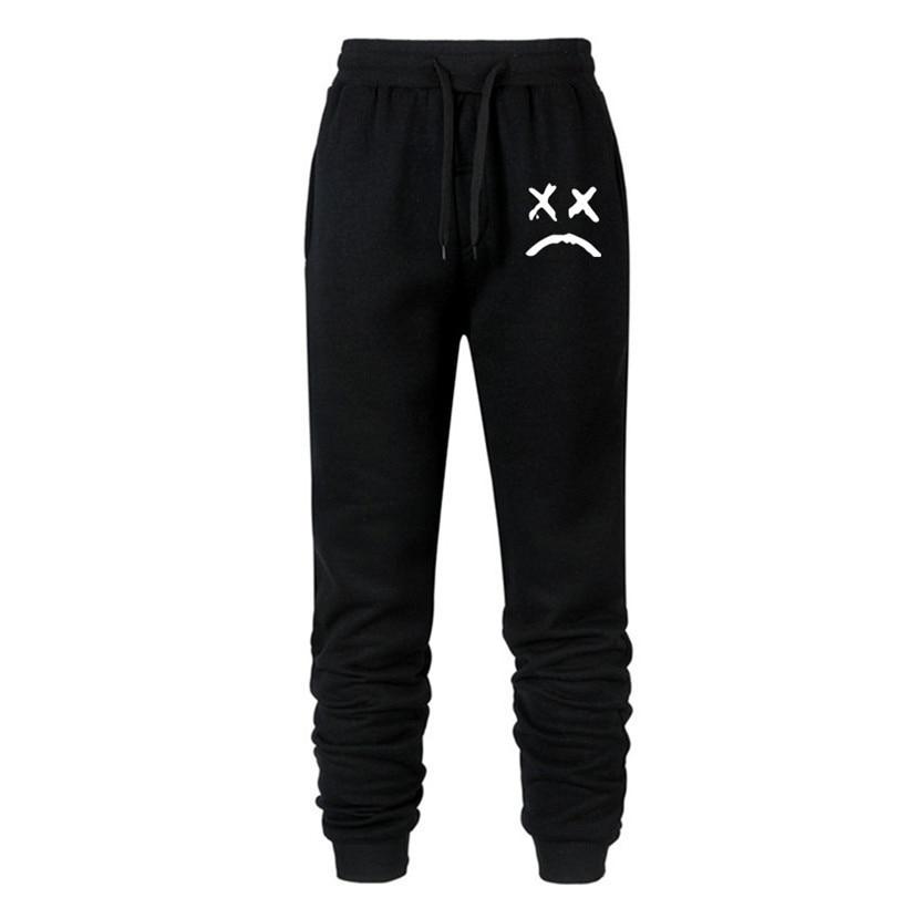 2019 Autumn New Cry Men Fitness Sweatpants Male Bodybuilding Workout Cotton Trousers Casual Joggers Sportswear Pencil Pants