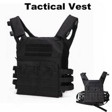 лучшая цена Tactical Equipment Army Vest JPC 600D Molle Plate Carrier Vest Airsoft Gear Military Combat Body Armor Multicam Hunting Vest