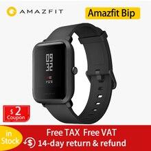 цена на Global version Huami Amazfit Bip smart watch Bluetooth GPS sports heart rate monitor IP68 waterproof call reminder MiFit alarm