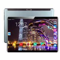 Più nuovo 10 Pollici tablet Android 9.0 Octa Core 6GB di RAM 64GB ROM 3G 4G LTE FDD wifi Bluetooth GPS di chiamata di Telefono di Vetro Dello Schermo di Tablet pc