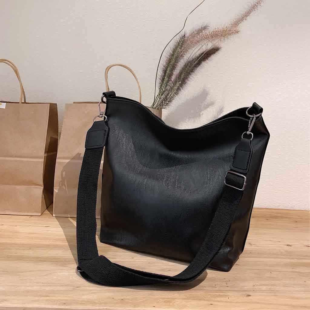 2019 yeni kadın postacı çantası moda deri çantalar kadınlar için 2019 lüks çanta büyük kapasiteli omuzdan askili çanta сумки женские #108