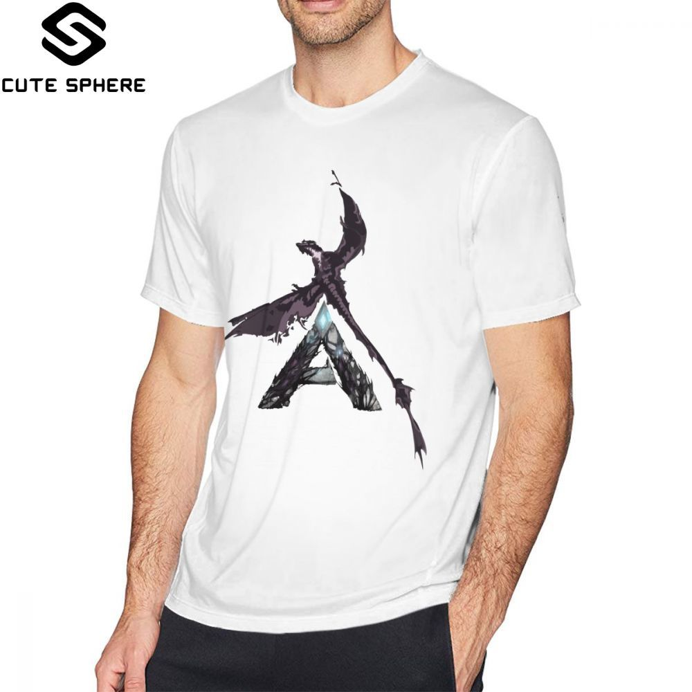 Ark Survival Evolved T Shirt Ark Extinction Wyvern T-Shirt Men Plus Size Tee Shirt 100 Percent Cotton Casual Graphic Tshirt