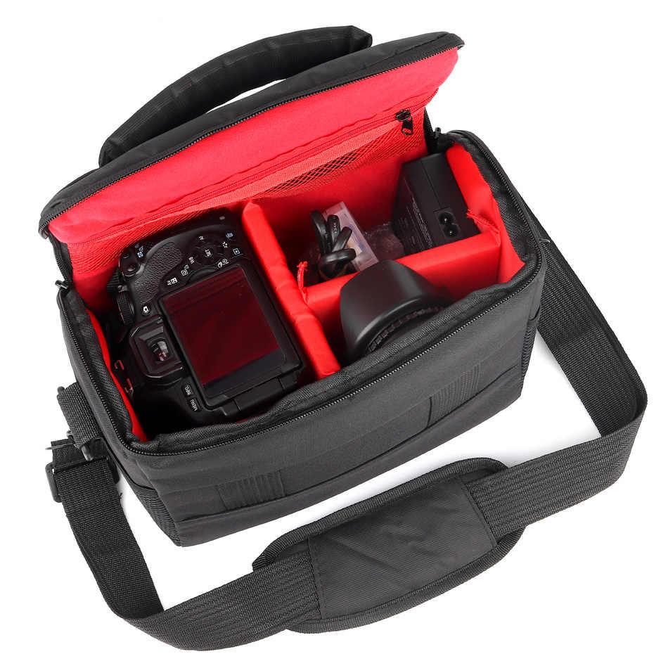 كاميرا dslr مقاومة للمياه حقيبة حالة لنيكون كانون EOS R 4000D 800D 77D 80D 1300D 1200D 760D 750D 700D 600D 60D 70D 100D 200D
