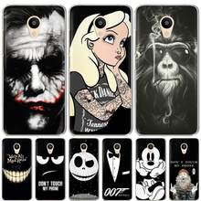 For Meizu M3S M3 Note M5 M6 M5S M5C M5 Note M6 Note U10 U20 Pro 6 16th Case Silicone Soft TPU Cover Phone Case protective shell(China)