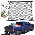 Универсальный автомобильный багажник заднего хранения грузовой багаж нейлоновая эластичная сетка 70x30 см сетчатый держатель с 4 пластиковы...