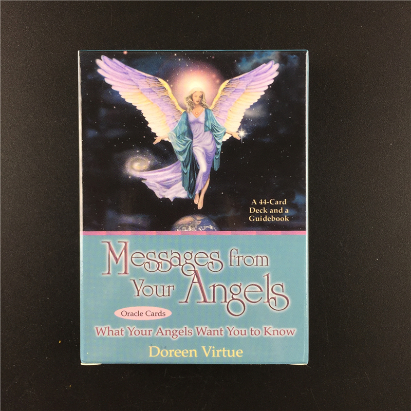 Oracle Cards Tarot Deck Of Messages From Your Angels: What Your Angels Tarot Board Game for Family Party Cards Game Toy image