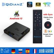 X96 companheiro caixa de tv android 10 4k duplo wifi bt media player play store aplicativo gratuito conjunto rápido caixa superior pk iptv hk1max h96