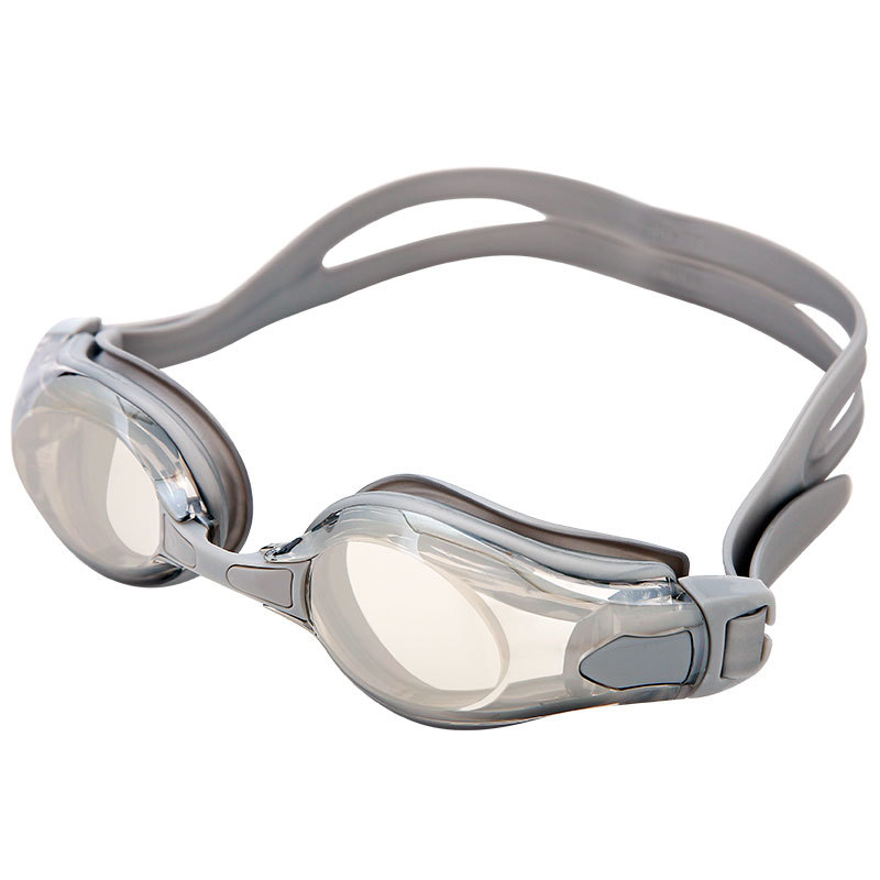 Yingfa Profession Waterproof Anti fog Swimming Goggles Electroplated Coatings Men And Women Swimming Glasses Big Box Comfortable Safety Goggles     - title=