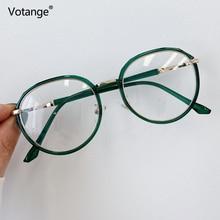 Goggles Light-Glasses Anti-Blue Eyewear-Frame Transparent Vintage Fashion Irregular Plain