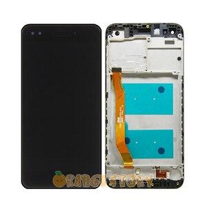 """Image 4 - 100% Test sensörü LCD ekran için Huawei Nova lite 2017 SLA L22 5 """"LCD dokunmatik ekranlı sayısallaştırıcı grup çerçeve değiştirme"""