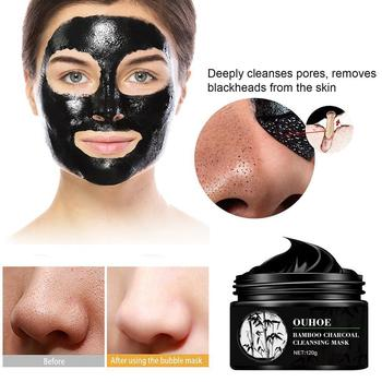 Unisex Face Mask Volcanic Clay Oil Control Deep Cleansing For Face Acne Shrink Pore Blackhead Remover Treatment Mask Purify N3K3 jvr men mineral mud facial cleanser blackhead remover deep cleansing oil control face wash male shrink pore face scrub skin care