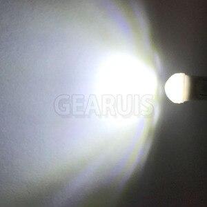 Image 5 - 100X samochód T10 ceramiczny Mini 3 SMD 2835 W5W LED 18*11*9mm 20MA czytanie światła parkowania Sidemarker Sidelight żarówki biały bursztynowy 12V