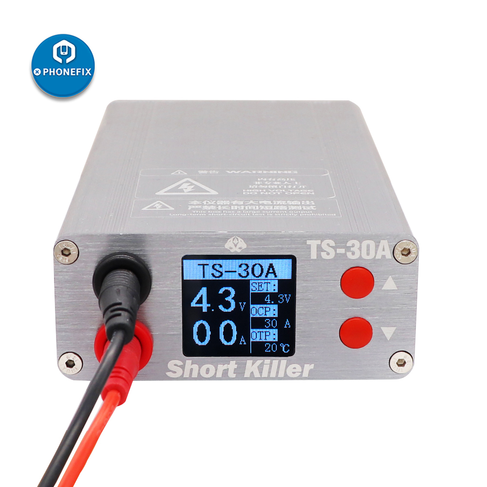 Short Killer Mobile Phone PCB Short Circuit Repair Tool Box TS-30A TS-20A For Phone Motherboard Short-circuit Fault Detector Box