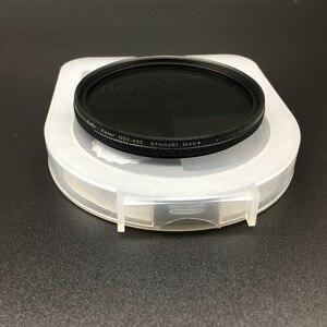 Image 4 - 40.5 49 52 55 58 62 67 72 77 82 millimetri ND Fader ND2 400 Variabile Filtro a Densità Neutra per Canon nikon Camera Lens di Sony