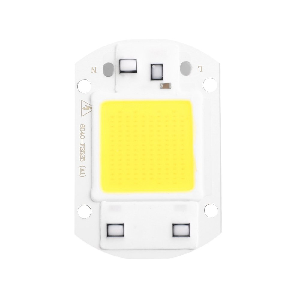 Smart COB LED Chip DIY Floodlight Spotlight Outdoor Lamp 30W AC110V 220V Waterproof IP63 Warm Cool White High Power Luminous