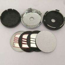 4 pçs 56mm 60mm 65mm 68mm 90mm modificação roda do carro centro tampa emblema cobre emblema adesivo estilo do carro acessórios