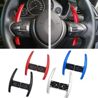 2pcs For BMW I8 X1 X2 X4 X5 X6 F31 F30 F12 F13 F20 F21 F45 F34 F32 F33 F07 F02 F01 Auto Steering Wheel Paddle Shift Extension