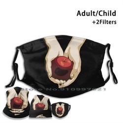 Crépuscule lavable réutilisable bouche masque avec filtres pour enfant adulte crépuscule Bella Swan Edward Cullen Stephenie Meyer