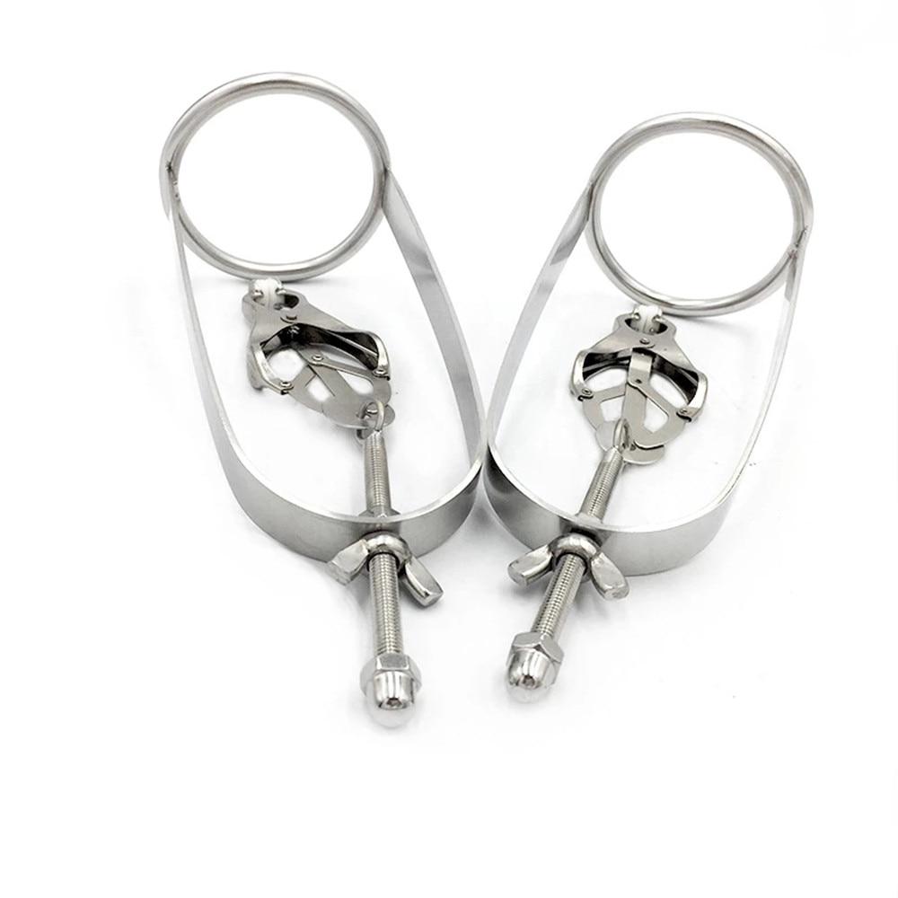 IGRARK-New-style-Butterfly-adjustable-torture-play-Clamps-cage-Nipple-clips-breast-BDSM-Bondage-Restraints-metal.jpg_Q90.jpg_.webp (4)
