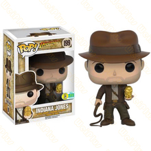 Funko pop vinyl toys INDIANA JONES 199# Vinyl Action & Toy Figures Collectible Model Toy for Children 2017 funko pop batman action figure toys plastic vinyl figures desk toys birthday christmas gift for kids children