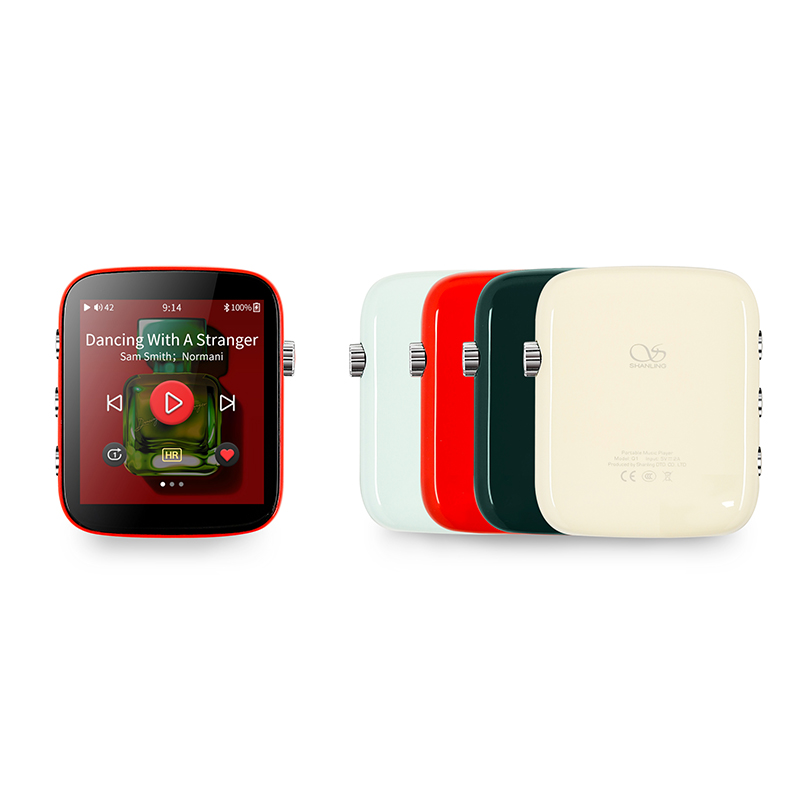Новейший портативный музыкальный плеер Shanling Q1 ESS Sabre ES9218P DAC, Hi-Res Музыкальный плеер HIFI DAP MP3 с Bluetooth aptX, функции для спорта