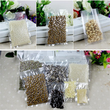 10pcs/lot Nylon Clear Composite Lucency Vacuum Bag Kitchen Storage Bags Snack Food Packaging