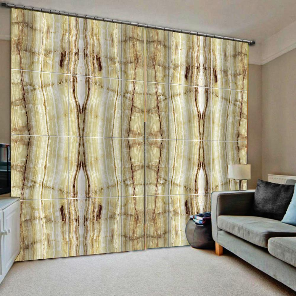 Custom 3D Curtains Drapes Modern Living Room Bedroom Curtains Custom Fashion 3D Drapes Window