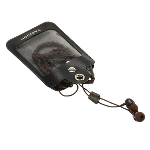 Image 5 - Moda 3.5mm cuffia con filo auricolare intrecciato cuffia con microfono auricolare sportivo verde militare portatile per smartphone
