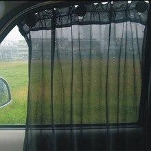 52x80cm proteção janela leve cortina veículo dobrável par sombra pano ventosa cortinas