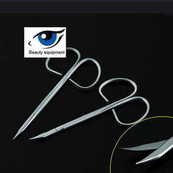 Beauty Plastic Sawtooth Scissors Twisted Handle Sawtooth Scissors