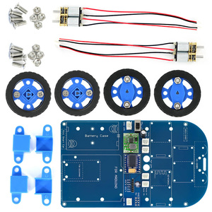Image 4 - N20 Gear Motor 4WD Bluetooth Controlled Smart Robot Car Kit with Tutorial for Arduino