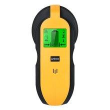 4 w 1 Tester ścienny Stud Finder Sensor skaner ścienny z wyświetlaczem LCD do wykrywania drewna AC Wire metalowe kołki