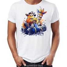 Marke Neue Männer T Shirts Bandicoot und Spyro PS Ära Legends Genial Darstellung Grafik Gedruckt T Shirts Übergröße