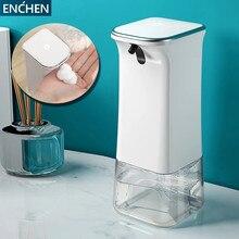 Автоматический индукционный дозатор мыла ENCHEN, бесконтактная пенообразовательная стиральная машина для умного дома и офиса