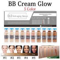 20 stücke 5ml Bleaching Serum BB Creme Glow Meso Aufhellung Serum BB Creme foundation Schönheit Salon Kosmetische make-up flüssigkeit foundatio
