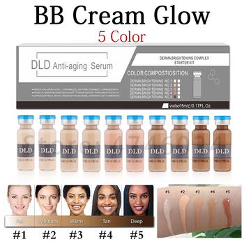 20 sztuk 5ml Serum wybielające krem bb Glow Meso rozjaśniający Serum krem bb fundacja Salon kosmetyczny kosmetyczny płyn do makijażu fundatio tanie i dobre opinie CIBO Wszystkich rodzajów skóry CHINA GZZZ YGZWBZ 20190328 5g pcs BB CC Creams W pełnym rozmiarze Bb cc kremy bb cream
