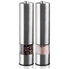 Электрический шлифовальный блок для соли и перца-электронный регулируемый вибратор-керамическая шлифовальная машина-автоматическая с одной рукой