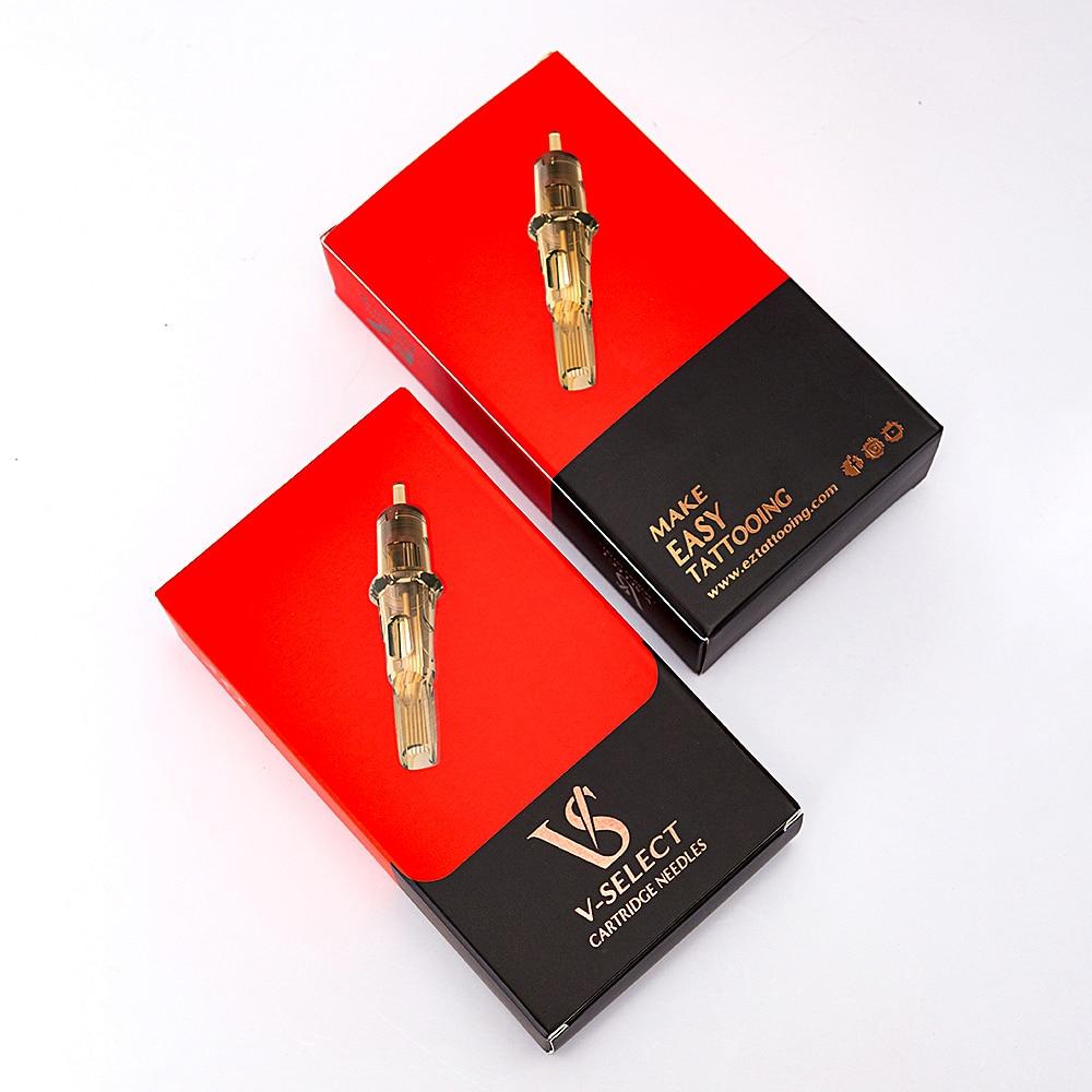 Image 2 - EZ V Select Cartridge Needle #10 Bugpin Curved Magnum Tattoo Needles Elastic Membrane for Rotary Cartridge Tattoo Machine 20 pcsTattoo Needles   -