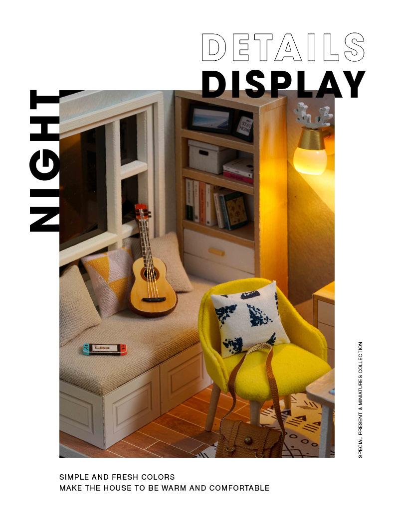 Hbe1ab383040048508111c65bbedbcf20B - Robotime - DIY Models, DIY Miniature Houses, 3d Wooden Puzzle