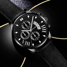 2021 Mens Luxury Top Brand Watches Military Sport Leather Strap Quartz Watch Men Fashion Casual Calendar Clock relogio masculino