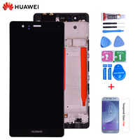 Original 5,2 ''para Huawei P9 EVA-L09 L19 L29 pantalla LCD con montaje de digitalizador con pantalla táctil con marco envío gratis