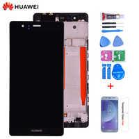 Original 5.2 ''pour Huawei P9 EVA-L09 L19 L29 écran LCD avec écran tactile numériseur assemblée avec cadre livraison gratuite