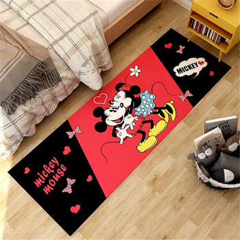 Cartoon Mickey Playmat Children Baby Kids Crawling Game Mat  Living Room Carpet Indoor Welcome Soft Mat Gift Kids Rug baby cushion crawling play mat playmat kids gift toy child carpet play soft floor gym rug baby room decoration accessories china