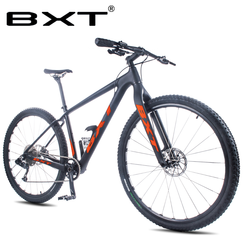 Mountain Bikes 29inch Full Carbon Fiber Ultralight 11 Speed Disc Brakes Adults Teenagers Bike Bicycle Complete MTB Bicycle