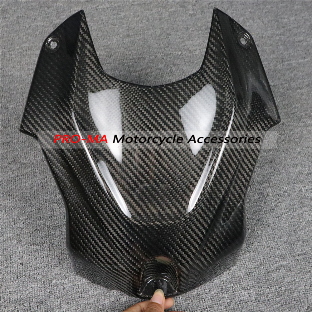 Motorcycle Tank Cover Fairing Kits In Carbon Fiber For BMW S Series S1000RR 2018-2019 Twill Glossy Weave