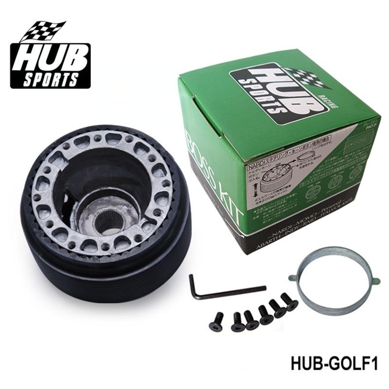 Carreras de adaptador de cubo para volante jefe Kit para Volkswagen VW Golf HUB-GOLF1