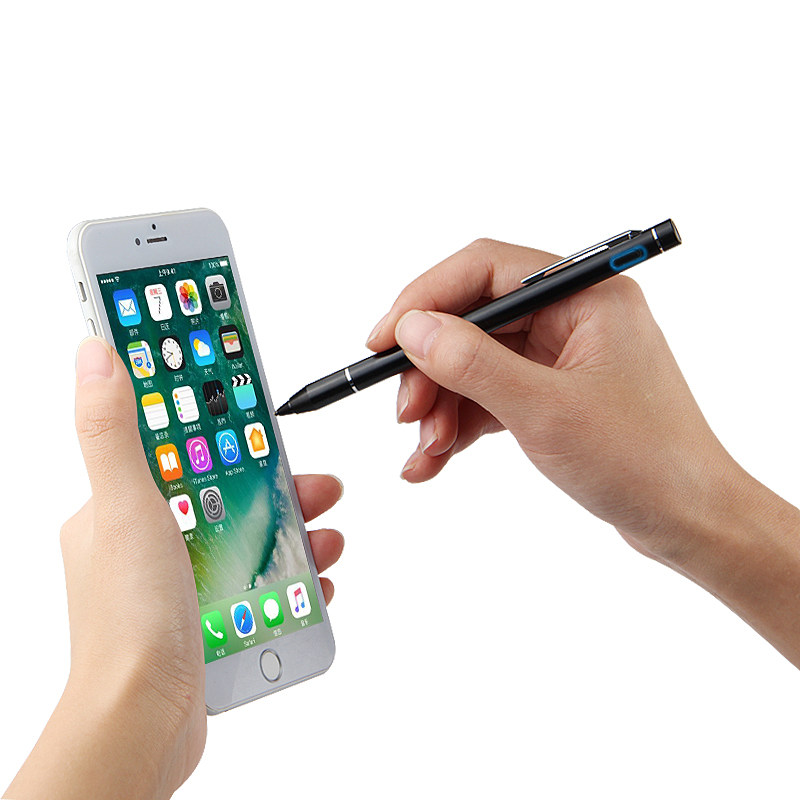 Active Pen Capacitive Touch Screen pen For iPhone XS Max XR 8 7 6 s Plus X 11 Pro Max 2019 Stylus Mobile phone pen Case